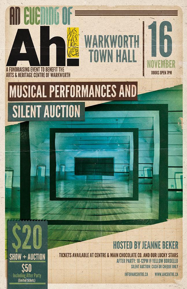 An Evening of Ah -  Event Poster