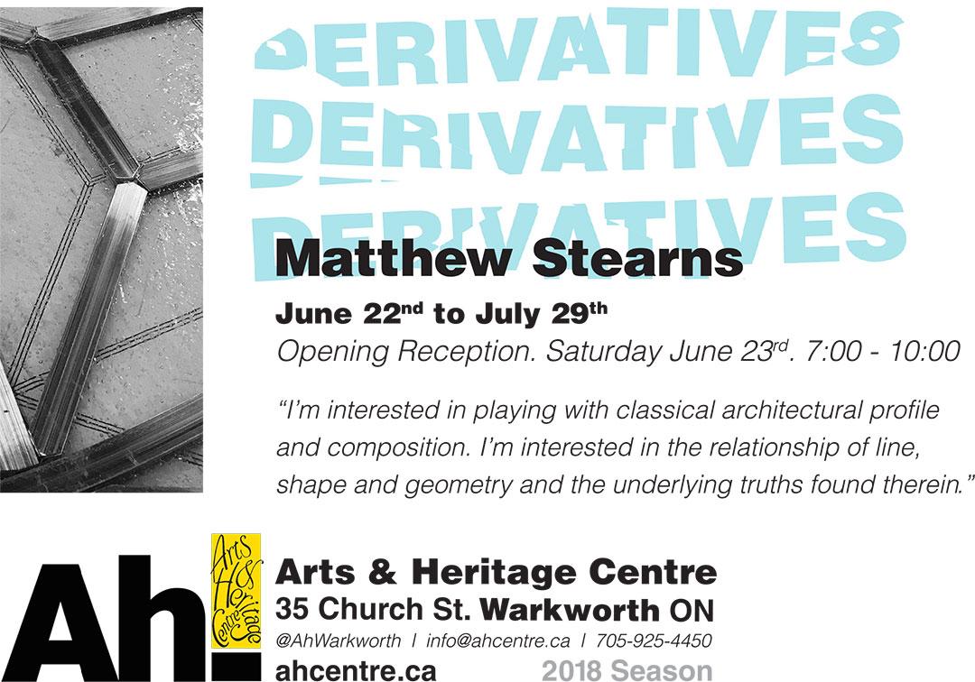 Derivatives by Matthew Stearn
